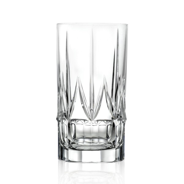 Chic Set of 6 High Ball Tumblers By Lorren Home Trends