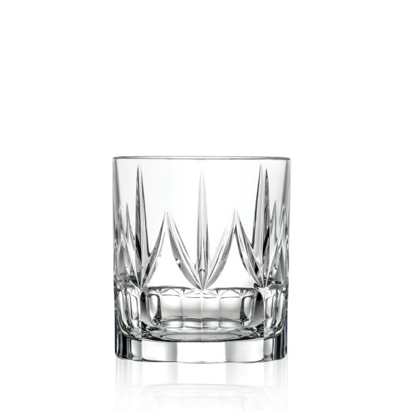 Chic Set of 6 Double Old Fashion Tumblers By Lorren Home Trends