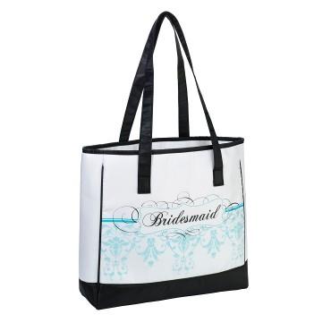 Bridesmaid Tote - Aqua