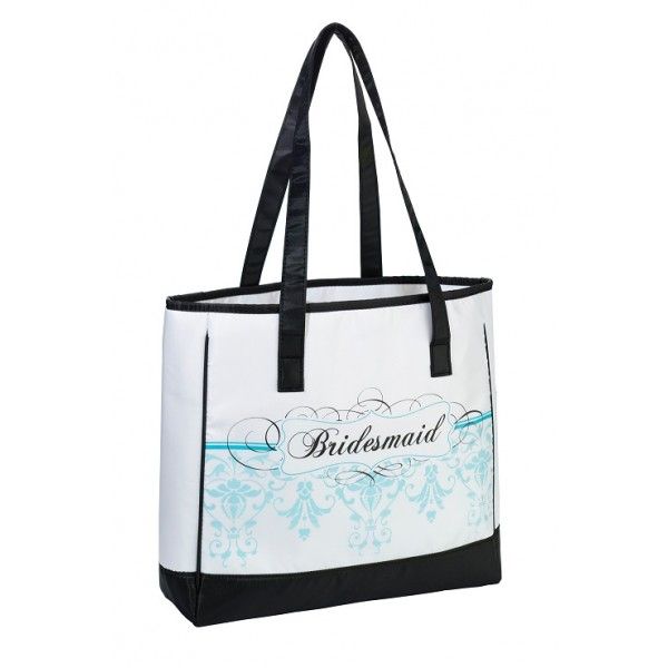 Bridesmaid Tote - Aqua