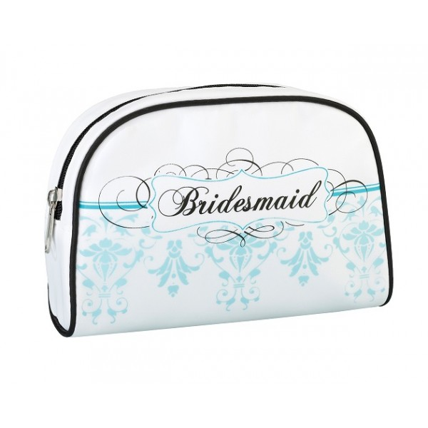 Bridesmaid Travel Bag- Aqua