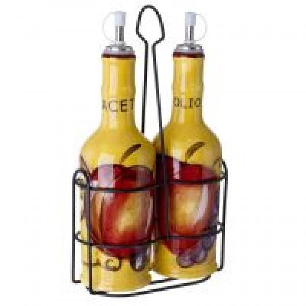 Cucina Italiana Ceramic Oil & Vinegar Cruet Set #0216/534