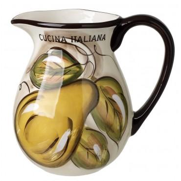 Cucina Italiana Ceramic 2 Liter Wine/Water Jug #0262-562