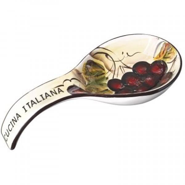 Cucina Italiana Ceramic Deep 9' Spoon Rest #0702-562