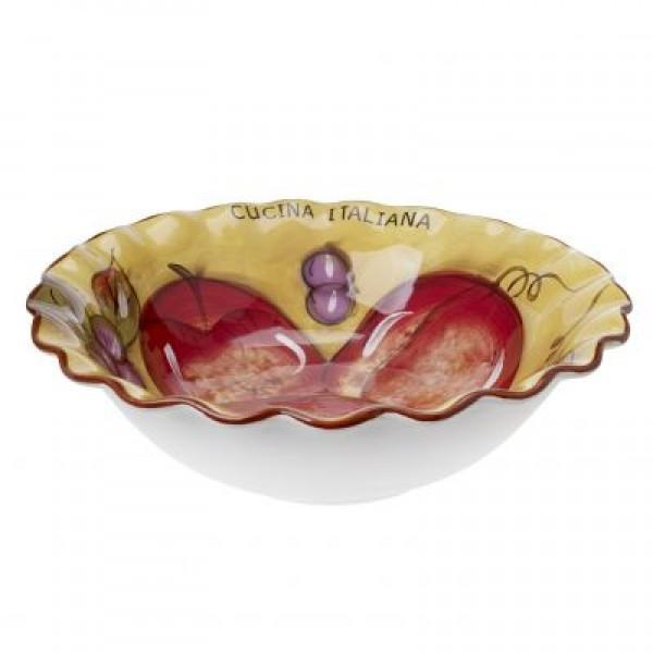 Cucina Italiana Ceramic Deep Pasta Bowl  #1189-534