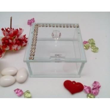 Trinket Jewelry Box Accented W. Swarovski Elements #30605