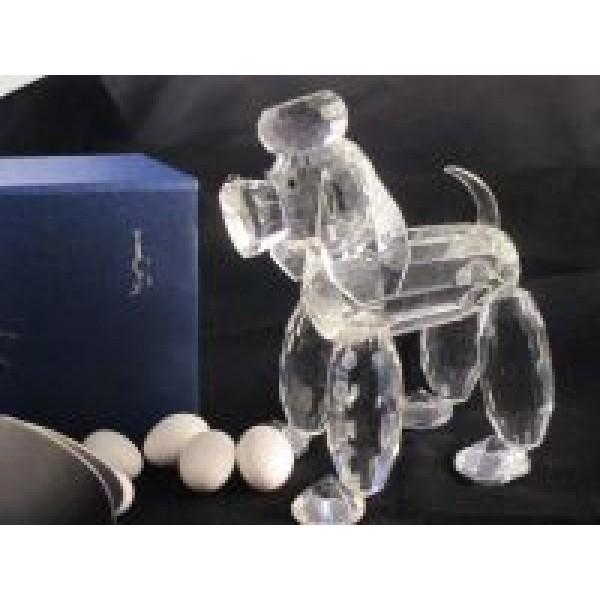 Crystal Poodle Figurine #CR016