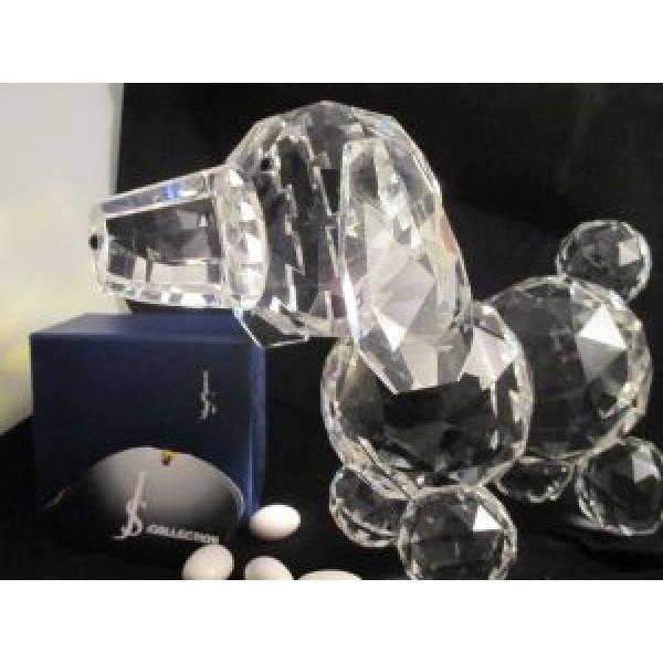 Crystal Puppy Figurine Centerpiece #CR044