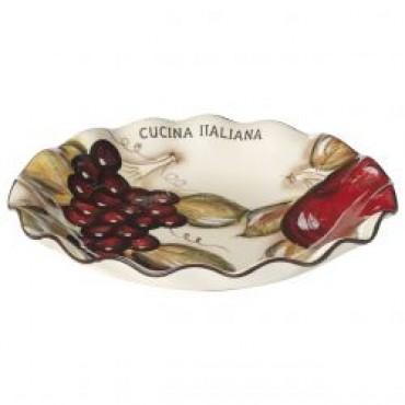 Cucina Italiana 13' Scalloped Pasta Dish #1317/562