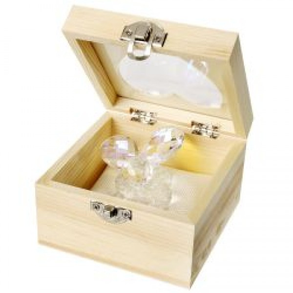 Crystal Grapes In Wooden Gift Box # DC4118