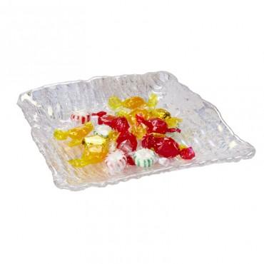 Debora Carlucci Clear Murano Candy Dish