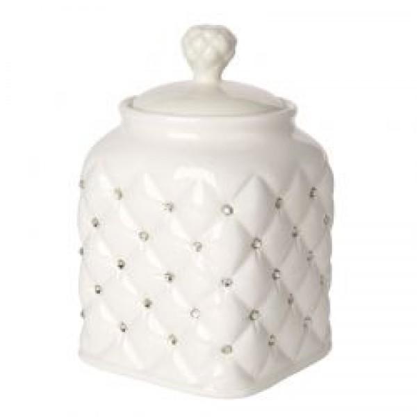 Debora Carlucci Ivory Tea Bag and Flour Canister Jar  # 34025