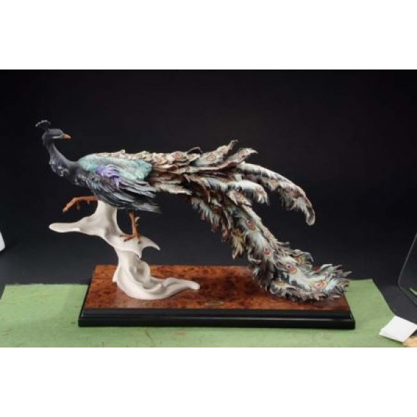 Giuseppe Armani Collection Peacock Figurine #0455S