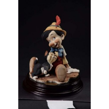 Giuseppe Armani Collection Pinocchio and Figaro Figurine |  #0464C