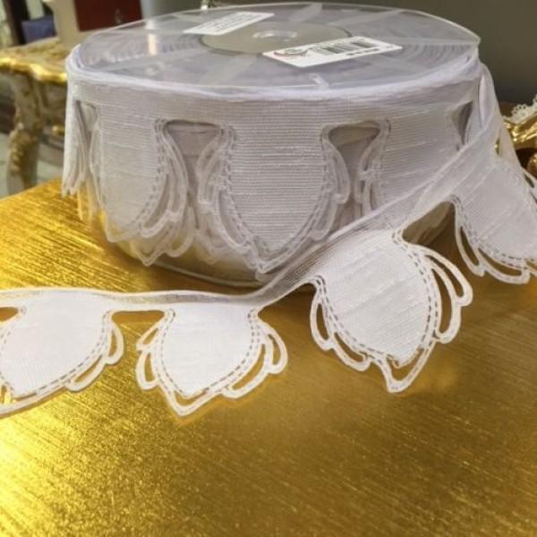 Italian Almond Holder Ribbon White #H510-13