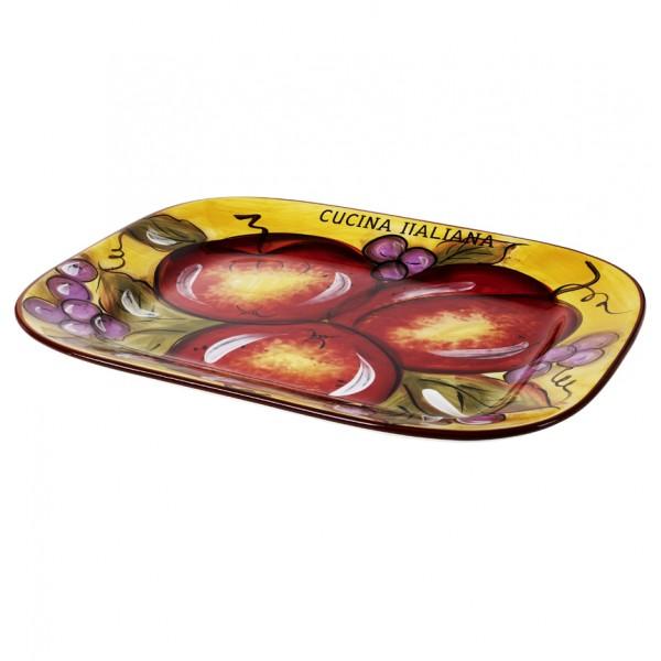 Cucina Italiana Ceramic  Serving tray #0017-534