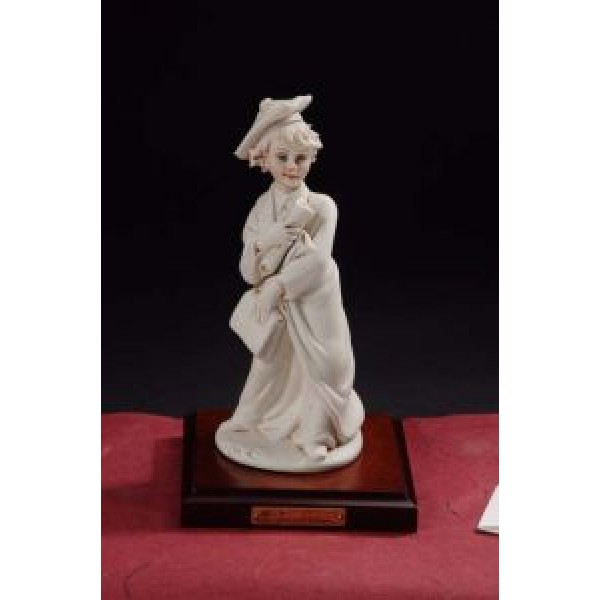 Porcelain Graduation Boy Figurine #2909